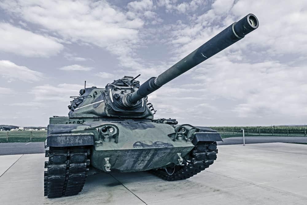 Tank Armor Amorphous alloy