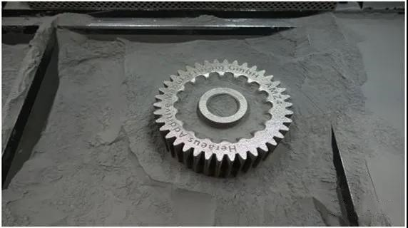 zirconium based amorphous gear